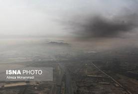 دود آتش هورالعظیم دوباره به خوزستان آمد