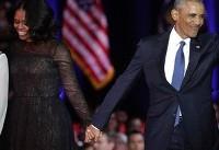 آخرین سخنرانی عمومی اوباما (+عکس)
