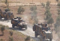 ورود اولین کاروان نظامی ترکیه به ادلب