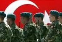 اولین کاروان نظامیان ترکیه به شهر ادلب سوریه وارد شدند