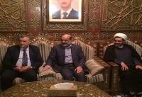 رئیس صدا و سیمای جمهوری اسلامی ایران وارد دمشق شد