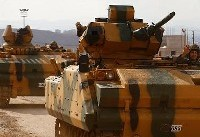 کاروان نظامی ترکیه «با اسکورت هیات تحریر شام» وارد ادلب شد