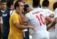 چمنیان: این تیم آینده فوتبال ایران است/ آمده بودیم که درس بگیریم