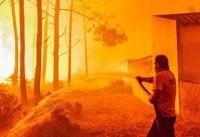 آتش سوزی مرگبار در پرتغال