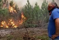 افزایش تلفات آتشسوزیهای جنگلی در پرتغال و اسپانیا