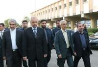 عکس  حضور مقام ارشد نظامی ایران در سوریه