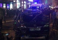 برخورد خودرو با مردم در اوکراین/ ۵ کشته و ۶ زخمی (+عکس)