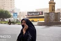 طوفان گردوخاک در بندرعباس/  بنادر مسافربری تعطیل شدند (عکس)