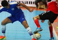 پیروزی تاسیسات مقابل گیتی پسند و قهرمانی تیم شمسایی در نیم فصل
