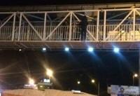 سقوط ۲ دختر جوان از پل چمران اصفهان