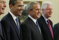 All 5 Living Former U.S. Presidents to Attend Hurricane Relief Concert