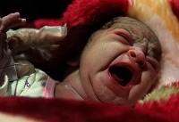 (تصاویر) تولد