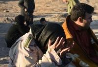 مصدومان و جانباختگان زلزله کرمانشاه (عکس)