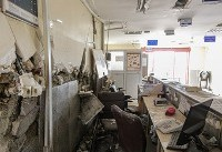 (تصاویر) تخریب تنها بیمارستان سرپل ذهاب
