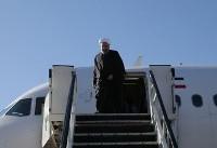 (تصاویر) ورود روحانی به کرمانشاه