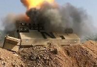 حمله موشکی ارتش یمن به تفنگداران متجاوز سعودی