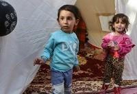 (تصاویر) کودکان زلزله زده در سرپل ذهاب