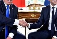 توافق ترامپ و ماکرون برای مقابله با ایران و حزبالله