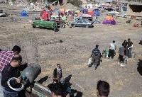 (تصاویر) دشت ذهاب پنج روز پس از زلزله