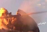 عملیات گسترده نیروهای یمنی به مواضع مزدوران سعودی در نهم