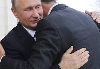 Bashar al-Assad says he is ready for Syria peace talks during rare meeting with Vladimir Putin