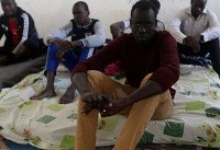 Footage shows African migrants being sold as slaves at auction for as little as £300 each