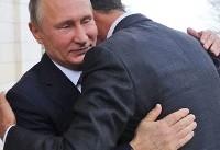 (تصاویر) دیدار پوتین و اسد در روسیه