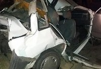 مصدومیت ۹ نفر در تصادف سرویس مدرسه و ۴ دستگاه تریلی و اتوبوس