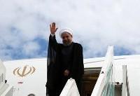 رئیسجمهور تهران را به مقصد سوچی ترک کرد