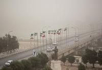 گرد و خاک شدید در اهواز (عکس)
