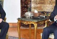 سعد حریری با رئیس جمهور مصر دیدار و گفتگو کرد