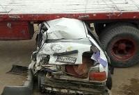 تصادف زنجیره ای خودروهای سنگین با سرویس مدرسه در کرمان/ ۹ نفر مجروح شدند