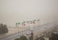 (تصاویر) گرد و غبار شدید در اهواز