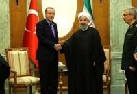 روحانی و اردوغان در سوچی روسیه دیدار کردند