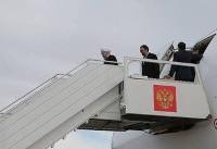 سفر روحانی به سوچی و دیدار با روسای جمهور روسیه و ترکیه (عکس)