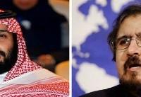 واکنش تهران به سخنان ولیعهد عربستان دربارۀ رهبر ایران