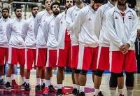 گزارش فدراسیون جهانی بسکتبال از تغییرات در تیم ملی ایران