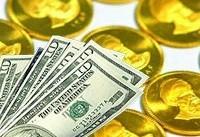 دلار صعودی و سکه نزولی شد