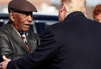 Donald Trump salutes civil rights heroes at boycotted museum opening