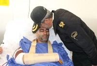 مجروح شدن مامور فداکار در عملیات دستگیری ارازل و اوباش