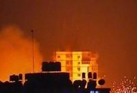 حملات امروز رژیم صهیونیستی به پایگاههای مقاومت در شمال غزه