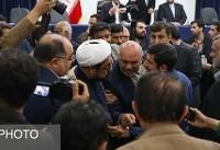 حاشیه جلسه شورای اداری خوزستان و جروبحث برخی نمایندگان خوزستان با رئیس سازمان حفاظت محیط زیست