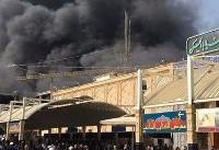 آتش سوزی در هتل نجف اشرف/۴۳ زائر ایرانی مصدوم شدند