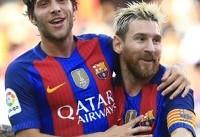 درخواست مسی از مسئولان بارسلونا/ اجازه جدایی را به سرخی روبرتو ندهید