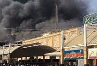 آتش سوزی هتلی در نجف/ ۴۳ زائر ایرانی مصدوم شدند