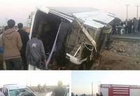 ۳۸ کشته و مجروح در تصادف اتوبوس اردوی دانش آموزی / اسامی فوتی ها + عکس