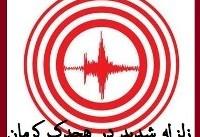 زلزله امروز؛ کرمان | زلزله ۶.۲ ریشتری هجدک کرمان را لرزاند | زلزله در بیرجند و کرمان احساس شد