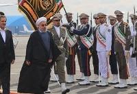 روحانی به ترکیه سفر کرد