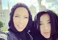 همسران بازیکنان رئال مادرید، با حجاب در امارات (+ عکس)