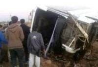 تصادف اتوبوس دانشآموزان دختر 'راهیان نور' چند کشته به جا گذاشت